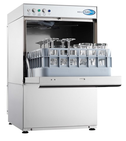 Classeq eco 2 front loading glasswasher